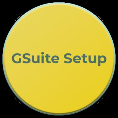 GSuite Setup graphic