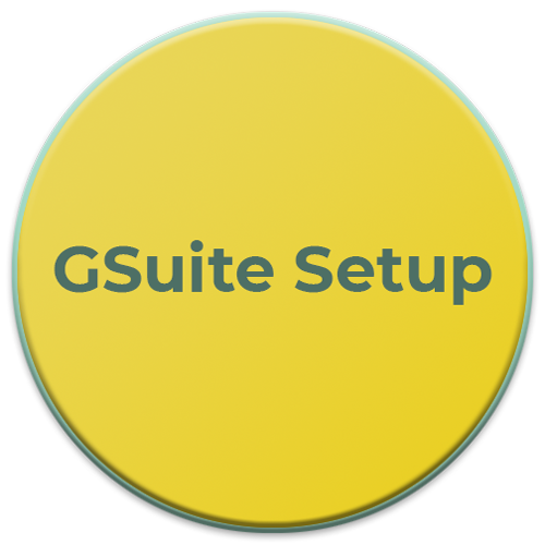 GSuite Setup graphic