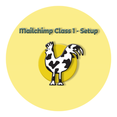 Cow and Rooster Web Design Mailchimp Setup Class icon