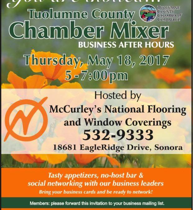 Tuolumne County Chamber of Commerce May Mixer